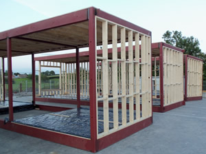 Steel frame or timber frame frame design reviews for Steel frame cabin
