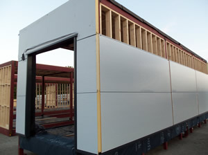 Modular portable cabins portable cabins and temporary for Steel frame cabin